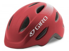 Kask dziecięcy juniorski GIRO SCAMP matte dark red roz. S (49-53 cm) (NEW)