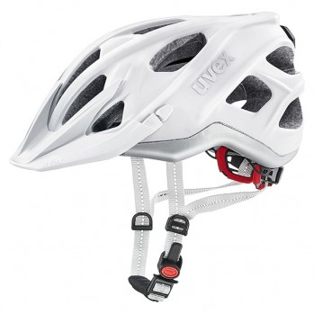 Kask rowerowy Uvex City light white mat