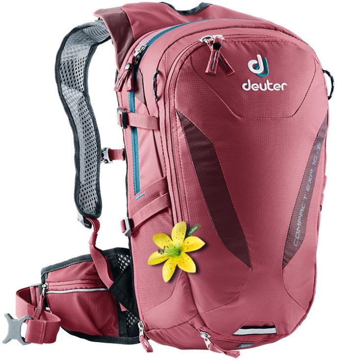 4c57e30ca385a Plecak DEUTER Compact EXP 10 SL cardinal-maron - DEUTER