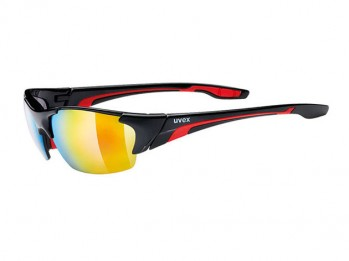 Okulary Uvex Blaze III black red