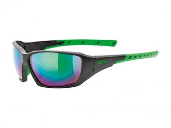 Okulary Uvex Sportstyle 219 black mat green