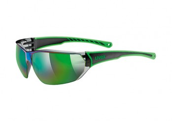 Okulary Uvex Sportstyle 204 black green