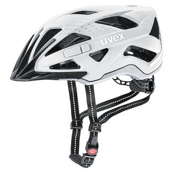 Kask rowerowy Uvex City Active white mat