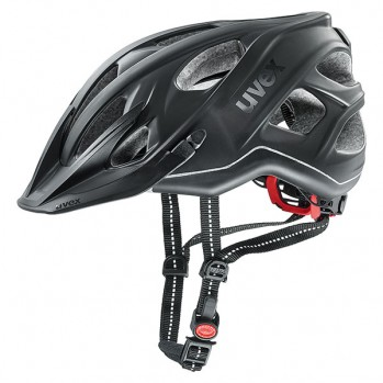 Kask rowerowy Uvex City light anthracite mat