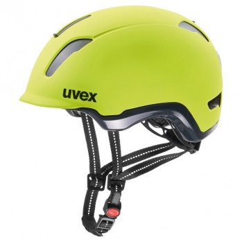 Kask rowerowy Uvex City 9 neon yellow